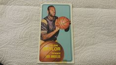 1970-71 Topps Los Angeles Lakers Elgin Baylor single basketball card