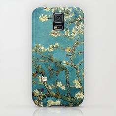Van Gogh - Blossoming Almond Tree iPhone & iPod Case