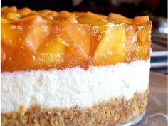 Sütés nélküli, sárgadinnyés-túró torta - Falatom Cheesecake, Food, Cheesecakes, Essen, Meals, Yemek, Cherry Cheesecake Shooters, Eten