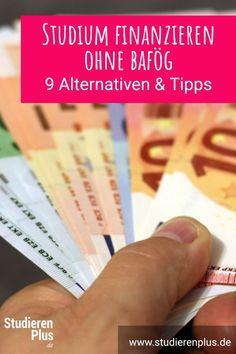 Mit diesen 9 Alternativen zum BAföG kannst du dein Studium finanzieren - und das auch ohne Muttis Hilfe :-) Learning Organization, Take Care, Study, Uni, Super, Colors, Life Questions, Scientia Potentia Est, Kids Allowance