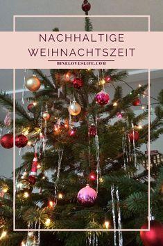 Kann man Weihnachten nachhaltiger feiern? Zero, German, Christmas Tree, Change, Holiday Decor, Home Decor, Deutsch, Christmas, Sustainable Gifts