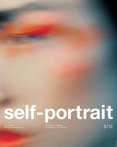 Jack Davison, Chu Wong, Self-Portrait, Spring 2018 Graphisches Design, Book Design, Cover Design, Layout Design, Graphic Design Posters, Graphic Design Inspiration, Typography Design, Editorial Design, Jack Davison