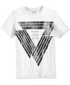 GUESS Men's Graphic-Print T-Shirt - T-Shirts - Men - Macy's