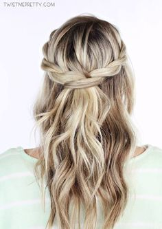 20 Quick And Easy Braided Hairstyles