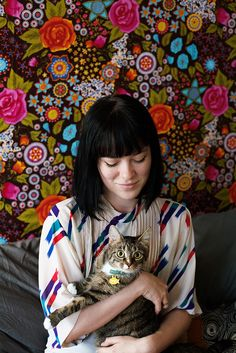 You'll Love These Tender Portraits Of Women With Their Cats Old Cats, Cats And Kittens, Crazy Cat Lady, Crazy Cats, Cats New York, Cat Photography, Portraits, Photos Of Women, Instagram