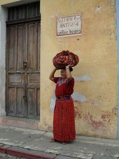 Photo shoot in La Antigua, Guatemala