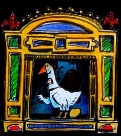 """The Mother Goose Toy Theatre"" by Clive Hicks-Jenkins"