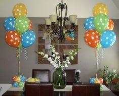 Cool Baby Shower Balloon Decor Balloon Masters Buffalo Baby Shower Hairstyle Inspiration Daily Dogsangcom
