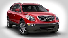 My next vehicle- Red Buick Enclave
