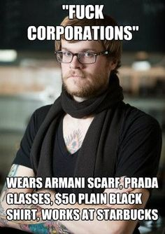"10 Hysterical ""The Hypocritical World Of Hipster Barista"" Memes"