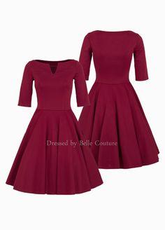 """Stretchkleider - Basic Jerseykleid """"Audrey"""" Herbst/Winter - ein Designerstück…"""