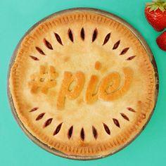 FREE #Pie Stencil