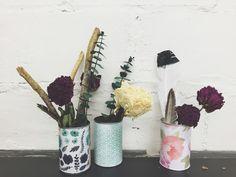 MY DIY: Tin Can Vase | south moon under