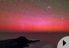 Red Aurora Australis          After chasing Aurora Australis (southern lights) for more than two years, photographer Alex Cherney