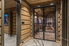 Timber Cabin, Mountain Cottage, Mountain View, Luxury Modern Homes, Cabins And Cottages, Wooden House, Rustic Elegance, Log Homes, Real Estate