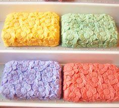 Set Of Four Flower Soaps You Pick The by kimshandmadegoodies, $20.00 #etsysns #rt