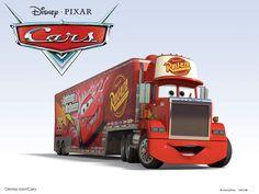 Disney Cars Characters Mack | Disney/Pixar Cars Characters: Mack (1985 Mack Super-Liner)