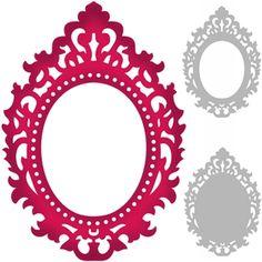 Silhouette Design Store - Search Designs : 3way ornate frame