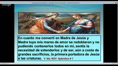 """MARÍA MADRE Y REINA DE LA DIVINA VOLUNTAD: """"María Portadora de Jesús""""    YouTube   https://www.youtube.com/watch?v=-4lFvtxV91k&feature=push-lbss&attr_tag=rw1YrgjNJkXEOBvq-6"""