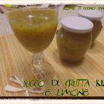 Succo+di+frutta+kiwi+e+limone+fatto+in+casa Kiwi, Pudding, Desserts, Food, Tailgate Desserts, Deserts, Custard Pudding, Essen, Puddings