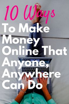 Great ideas for some extra cash!