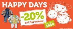 Heute: -20% auf Babymode*  *Gültig am 15.09.16  #vertbaudet #gutschein #babymode
