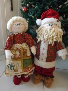 Casal de Papai e Mamãe Noel!   por Fada Artesã