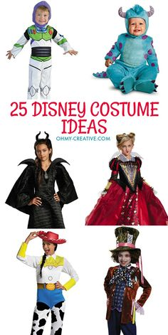 25 Disney Costume Ideas   OHMY-CREATIVE.COM   Disney Halloween Costumes   Disney Kids Costumes   Disney Teen Costumes Disney Adult Costumes   DIY Costumes   DIY Halloween   DIY Halloween Costumes   Amazon Costumes   Best DIY Halloween Costumes   Disney Ha