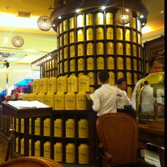 TWG best tea experience - Singapore.