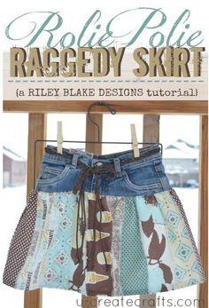 Denim Do Over   Make An Adorable Skirt From Old Jeans   http://www.denimdoover.com