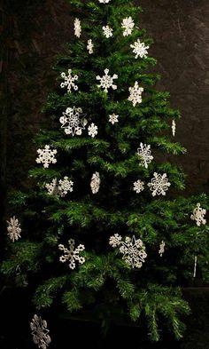 Snow Flakes christmas ornaments 2 20+ Cute Ideas Of Handmade Christmas Ornaments 2013