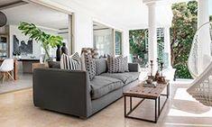 Decoración de interiores y exteriores, decora tu casa - HOLA Home Decor Furniture, Outdoor Furniture Sets, Outdoor Sofa, Outdoor Decor, Argentina Travel, Interior Exterior, Decoration, Luxury Homes, Farmhouse