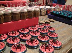 #party #festa #homemaranha #spiderman #aranha #guloseimas #papelaria #tag #brigadeiro #minichiclete