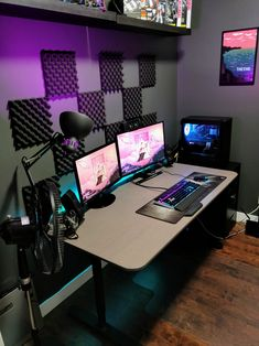 Painstaking Gaming Computer Setup Design Bookworms have their own home library, movie lovers have a home theater, and gardening enthusiasts own a beautiful flower garden. What do video gamers have Gaming Computer Setup, Best Gaming Setup, Gaming Room Setup, Pc Setup, Office Setup, Gaming Desktop, Gamer Setup, Gaming Pcs, Computer Room Decor