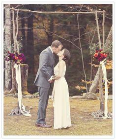 autumn afternoon wedding