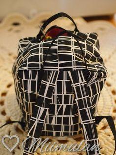 Itse tein.: Reppuja ja pussukoita Backpacks, Pasta, Bags, Diy, Fashion, Handbags, Moda, Bricolage, Fashion Styles