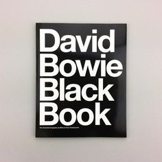 IT'S HERE! The 'David Bowie Black Book' is now available once again after being out of print for several years. Find your copy on Counter-Print.co.uk #counterprintbooks #davidbowie #davidbowieblackbook