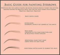 A geat eyebrow tutorial by the talented Xhanthi