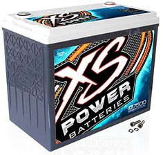 This XS Power 12-Volt Deep Cycle Power Cell features a sealed absorbed glass mat (AGM) design and is perfect for 6000-7500 watt car audio sound systems. The D7500 can be used as a replacement for your...