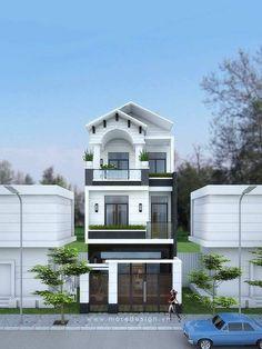 Mẫu thiết kế nhà phố đẹp 6x18m 3 tầng