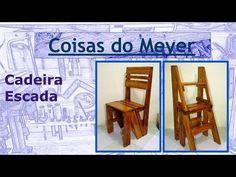 Como fazer Cadeira Escada - YouTube