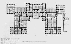 Castle Howard, Yorkshire. Vitruvius Britannicus C1720