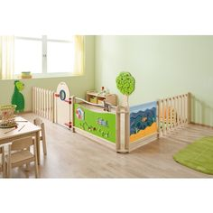 Trennwand-Kombination 3 | Kombinationen | Trennwände & Präsentation | Möbel & Raumgestaltung | Krippe & Kindergarten | Wehrfritz Deutschland