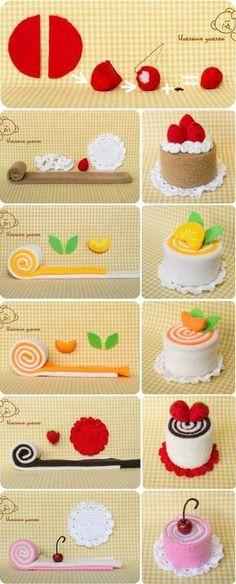 Toma nota de estas increíbles ideas para hacer obsequios dando diversas formas a toallas pequeñas. Son el detalle o el souvenir perfecto pa... #Crafts