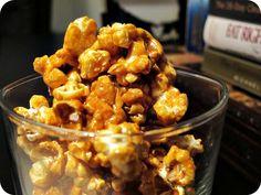 Modern Caramel Corn: Coconut Sugar Low Glycemic Caramel Popcorn