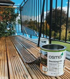 Recently finished off a decking replacement in Haslemere using Osmo Decking Oil @osmo_uk supplied by @artisantimberandflooring. By far the best finishing product we have found for any timber - especially decking!