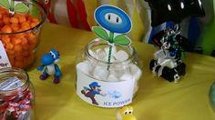 Ice Powers, 7th Birthday, Party Themes, Mario, Decor, Decoration, Decorating, Dekorasyon, Dekoration
