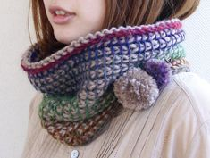 neckwarmer crochet tutorial japanese