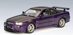 1999 Nissan Skyline GTR Diecast Scale Model by Autoart Autoart Diecast, R34 Gtr, Japanese Sports Cars, Nissan Skyline, Diecast Models, Scale Models, Cars And Motorcycles, Motors, Miniatures