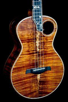 Simply beautiful! Takamine Guitars, Resonator Guitar, Cool Ukulele, Ukulele Tabs, Unique Guitars, Custom Guitars, Ukulele Instrument, Ukulele Design, Wood Steel